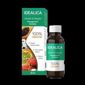 Idealica капки - цена, мнения, съставки, форум, къде да купя, производител - България